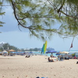 Great beach for kids and families in Grand Cayman