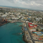 Aerial view of Georgetown, Grand Cayman