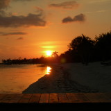 Sunset in Little Cayman